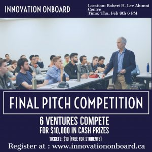 Innovation OnBoard Final Competition – February 8th 2016 at 6pm
