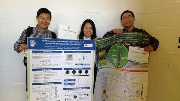 Ruixu Wang, Ziliang Wang, and Eric Dening Jia have won Best Poster awards at BPI Research Day