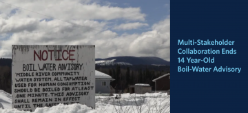 Multi-Stakeholder Collaboration Ends 14 Year-Old Boil-Water Advisory