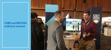 CHBE and RES'EAU at BCtech Summit