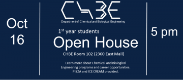 CHBE Open House
