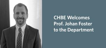 Welcome to Professor Johan Foster