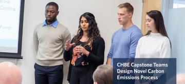 CHBE Capstone Teams Design Novel Carbon Emissions Process