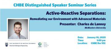 Distinguished Speaker Seminar – Professor Charles de Lannoy