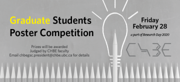 Graduate Student Poster Competition 2020