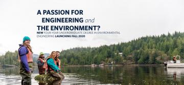 UBC Launching New Environmental Engineering Degree in Fall 2020