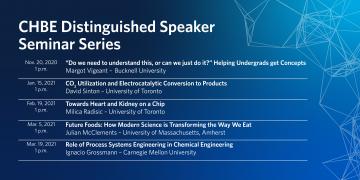 2020-2021 CHBE Distinguished Speaker Series
