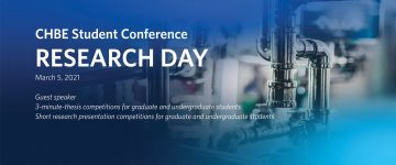 CHBE Student Conference Research Day 2021