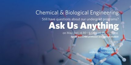 CHBE Ask Us Anything Info Session