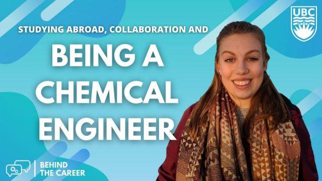 Behind the career: Chemical Engineering