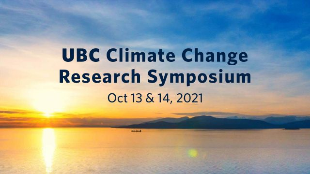 UBC Climate Change Research Symposium